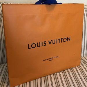 Louis Vuitton Shopping Bag and Box
